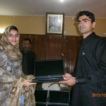 Laptop Distribution To The Scholarship holders